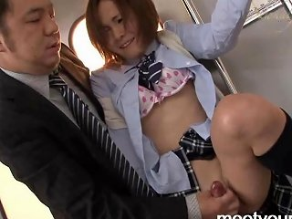 Sexual Adventures Of Japanese Shemales On The Train